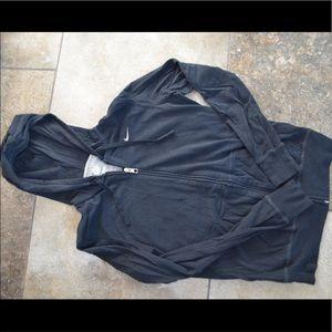 Tops - Kids large black nike zip up